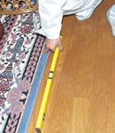床の傾き調査